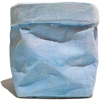 Studio Story Concrete Paper Bag Small Blue