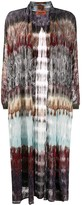 Missoni sheer open-front cardigan