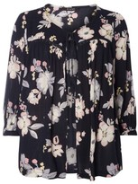 Evans Plus Size Women's Floral Print Cover-Up