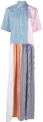 Plan C Patchwork Maxi Dress