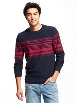 Old Navy Striped Crew-Neck Sweater for Men