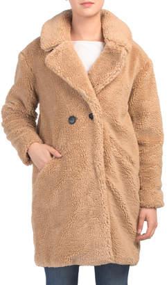 Double Breasted Teddy Bear Coat
