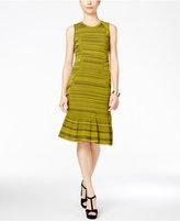 Rachel Roy Textured Knit Drop-Waist Dress