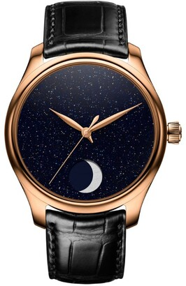 H. Moser & Cie Rose Gold Endeavour Perpetual Moon Concept Watch 42mm