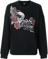 Just Cavalli logo motif sweater