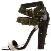 Proenza Schouler Multistrap Studded Sandals