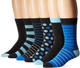 Ben Sherman Men's 6-Pack Nigel Crew Socks