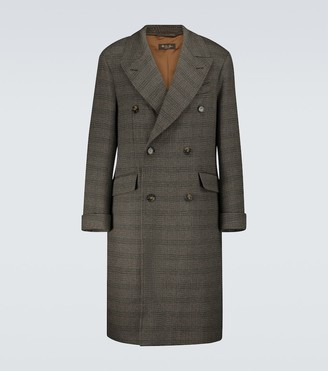 Loro Piana Wool and cashmere Ulster overcoat