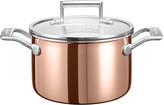 KitchenAid 3-Ply Copper Saucepan - 2.8L