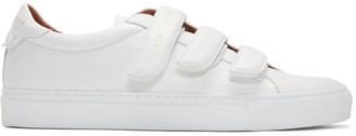 Givenchy White Urban Street Straps Sneakers