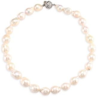 Kenneth Jay Lane Baroque Pearl Collar Necklace