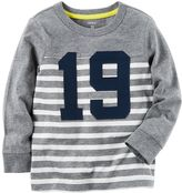 Carter's Boys 4-8 Raglan Striped Tee