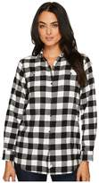 Woolrich Buffalo Check Boyfriend Shirt Women's Long Sleeve Button Up