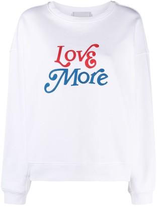 Philosophy di Lorenzo Serafini Slogan-Print Cotton Sweatshirt