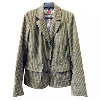 Rare Khaki Wool Jacket for Women