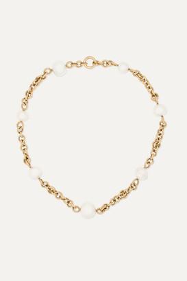 Spinelli Kilcollin Varuna 18-karat Gold Pearl Necklace - one size