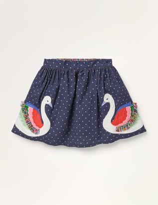 Fun Frill Applique Skirt