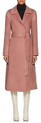THE LOOM Women's Brushed Wool-Alpaca Belted Coat - Pink