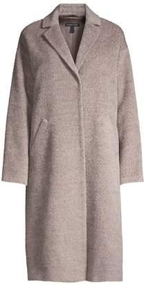 Eileen Fisher Boxy Wool-Blend Coat