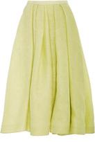 Rosie Assoulin Lettuce Edged Skirt