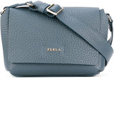 Furla grained effect crossbody bag