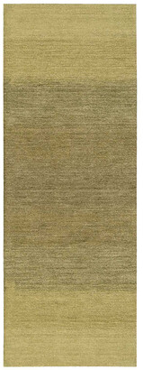 Nourison Calvin Klein Home Linear Glow Hand-Made Wool Rug