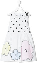Simonetta floral print sleeveless dress - kids - Cotton/Polyester - 2 yrs