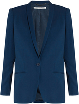 Stella McCartney Mattea shawl-collar single-breasted jacket