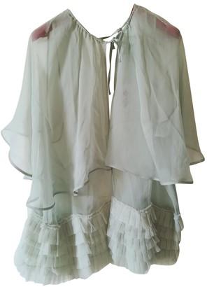 La Perla Green Silk Jacket for Women