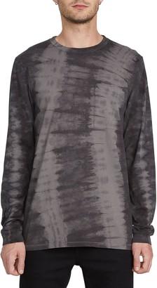 Volcom Chill Tie Dye Long Sleeve Pocket T-Shirt
