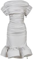 Maticevski Transferral Ruffle Dress