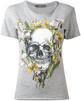 Alexander McQueen skull print T-shirt - women - Cotton - 38
