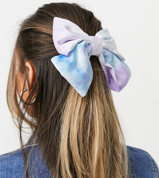 Daisy Street hair bow in velvet