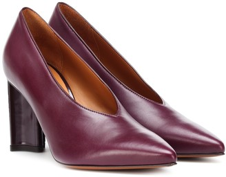 Clergerie Kathleen leather pumps