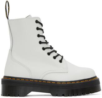 Dr. Martens White Jadon Boots