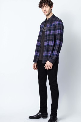 Zadig & Voltaire Torrol Check Shirt