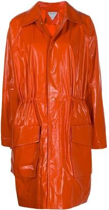 Bottega Veneta Adjustable Drawstring Waist Raincoat