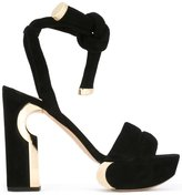 Nicholas Kirkwood 120mm 'Ziggy' platform sandals - women - Suede/Leather - 35