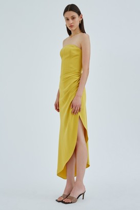 C/Meo PROVOKE GOWN Chartreuse