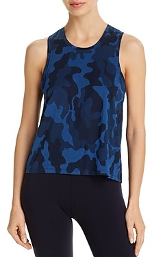 Splits59 Syd Printed Sleeveless Tank Top