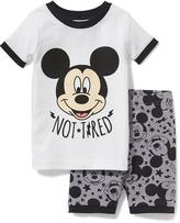 Old Navy 2-Piece Disney© Mickey Mouse Sleep Set for Toddler & Baby