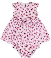 Armani Junior Poppy Print Dress And Bloomers