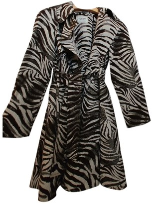 Lanvin For H&m Grey Cotton Trench Coat for Women