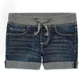 Arizona Knit At Waist Shortie Shorts - Toddler Girls