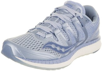 Saucony Women's Liberty Iso Fog/Blue Athletic Shoe