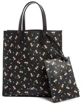 Givenchy Floral Print Tote - Black