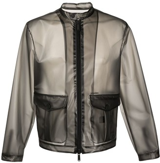 DSQUARED2 Transparent Lightweight Jacket