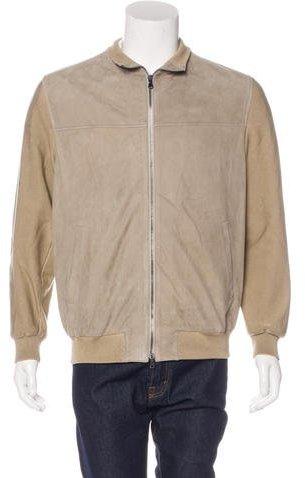 Kiton Lamb Suede Jacket w/ Tags