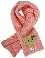 Simplicity Little Girl's Bowknot Scarf in Candy Colored Cotton Fibers