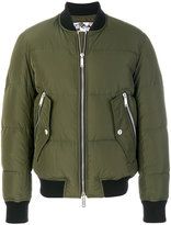 DSQUARED2 front zipped bomber jacket